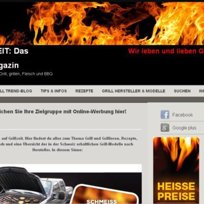 Grill Portal Schweiz Grillen BBQ Rezepte News