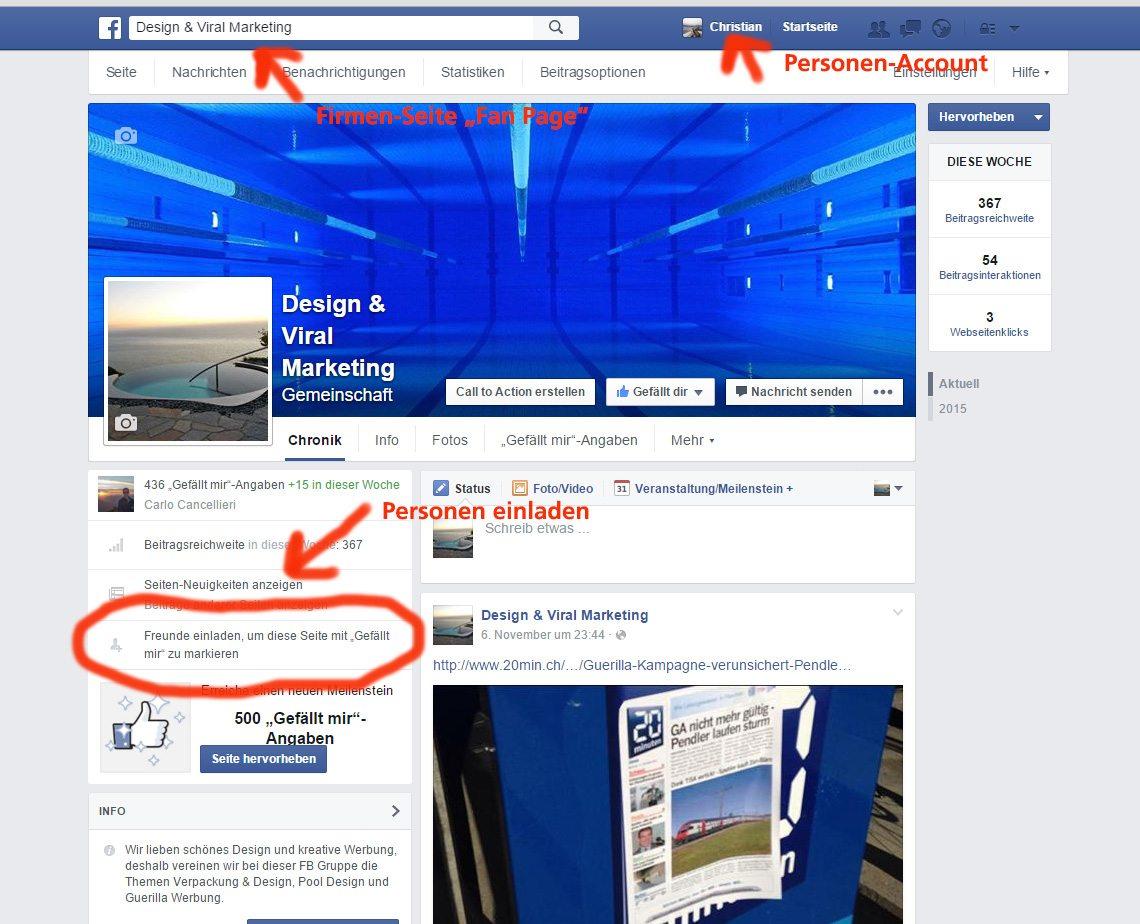 facebook allle freunde auf einmal einladen - online marketing partner, Einladung