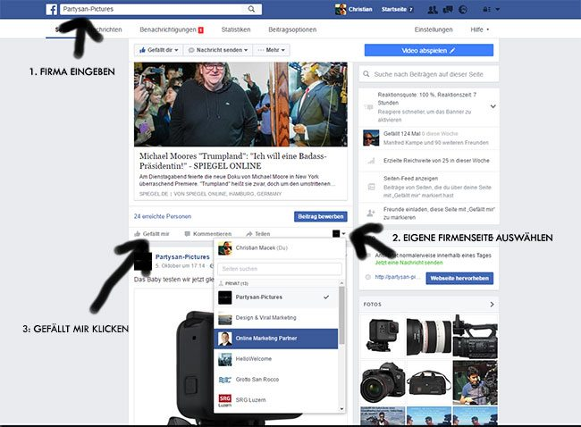 seo-social-media-agentur-facebookandere-mit-firmenseite-beitraege-posts-liken