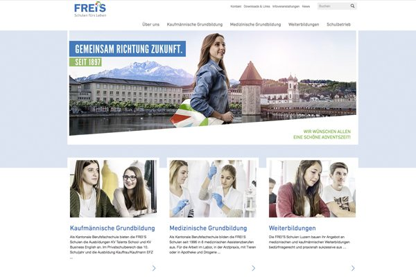Online Marketing & Social Media für Frei`s Schulen Luzern