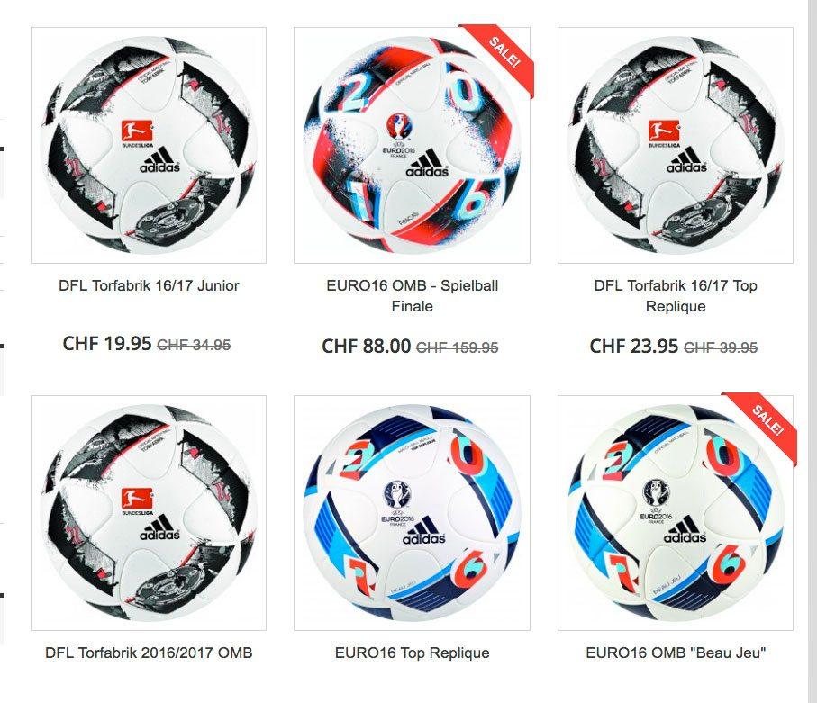 Offizielle Match-Fussbälle für Private und Vereine im 10er Pack
