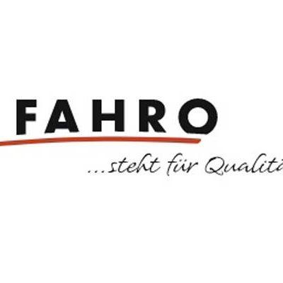 Logo von FAHRO, Ihrem Partner für Insektenschutz mit Fliegengitter, Fliegenvorhang und Insektenschutzgitter