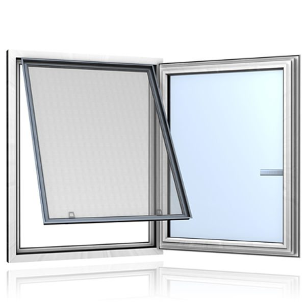 Insektenschutzgitter am Fenster: Spannrahmen ClipFix