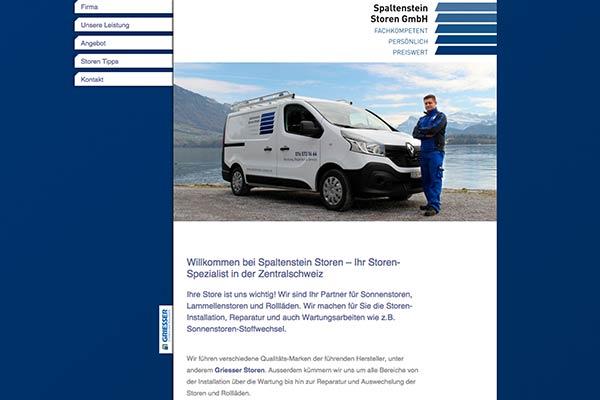 SEO: Spaltenstein Storen GmbH