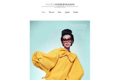 Webdesign: Marc Hossmann Hairdesign Stans