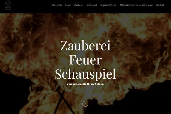 SEO & Webdesign: Zauberei & Feuershow