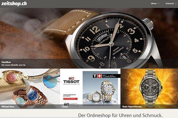 zeitshop.ch Uhren online kaufen