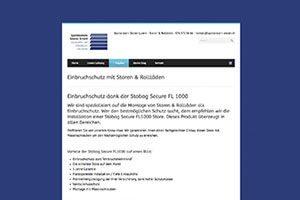 content marketing landing pages themenwelten einbruchschutz