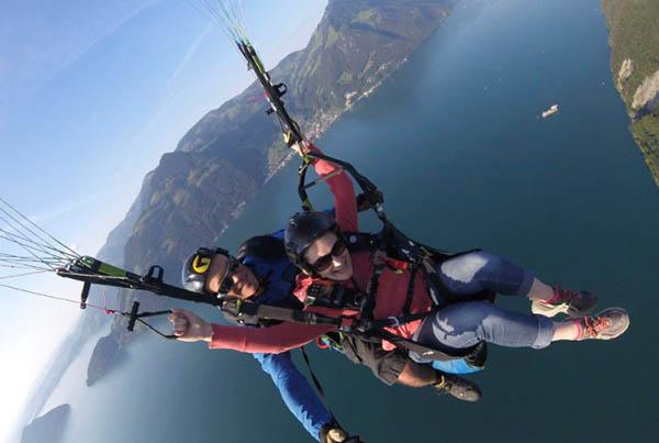 CAP Paragliding | Gleitschirmflüge und Tandemsprünge in Luzern und Zentralschweiz