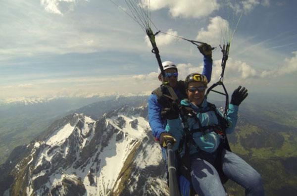 Fluggebiet-Pilatus-Luzern-Paragliding
