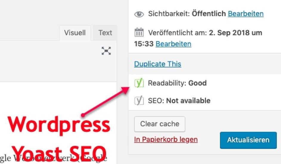 Seo optimierte Texte: Flesch-Wert, Leserfreundlichkeit