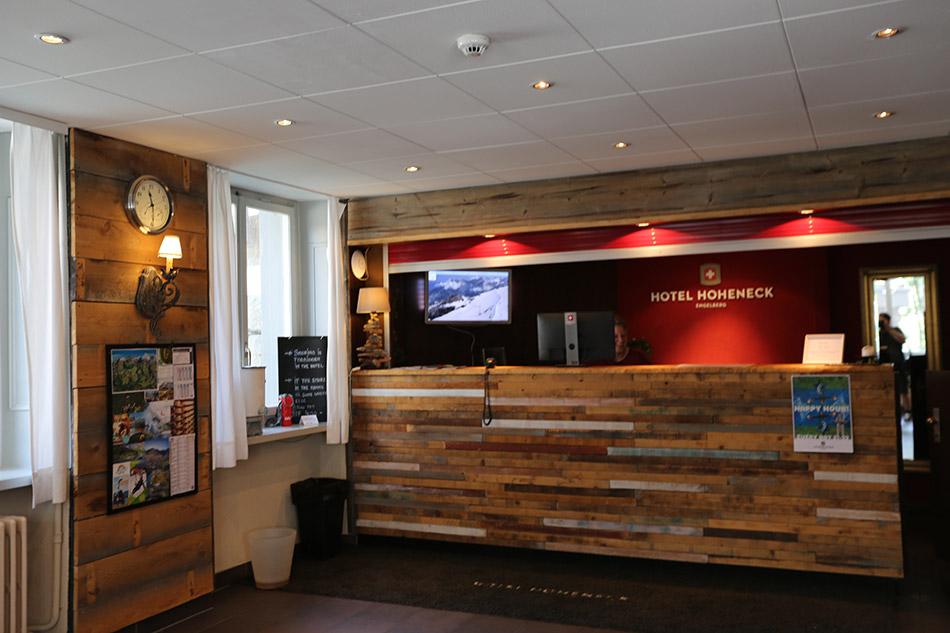 Reception Gasthaus Engelberg Hotel Hoheneck