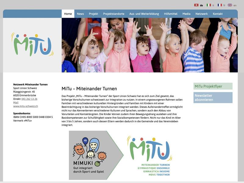 seo agentur für mitu sportunion schweiz