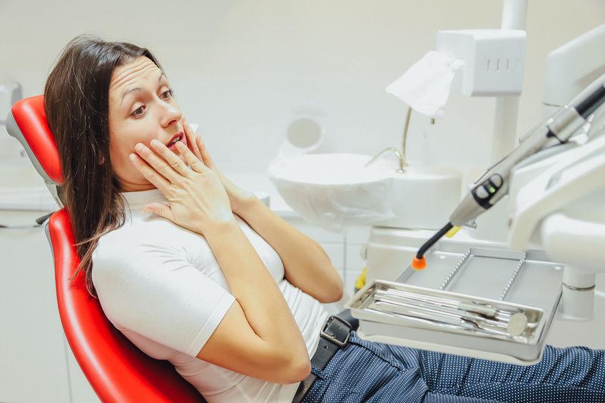 Dentophobie Angst vorm Zahnarzt