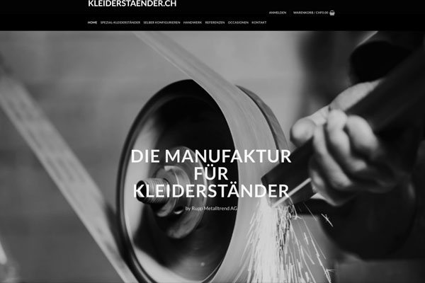 Online Shop Kleiderständer.ch
