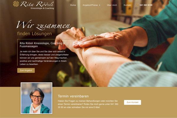 Kinescoaching Rita Röösli | Kinesiologie Luzern
